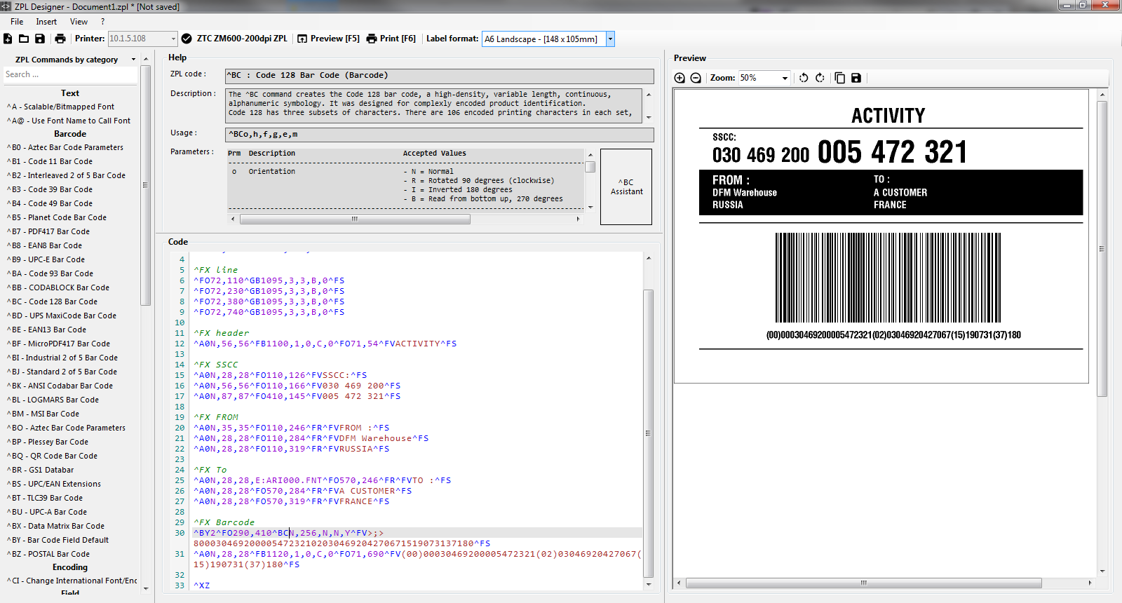 Download the lastest version of ZPLDesigner