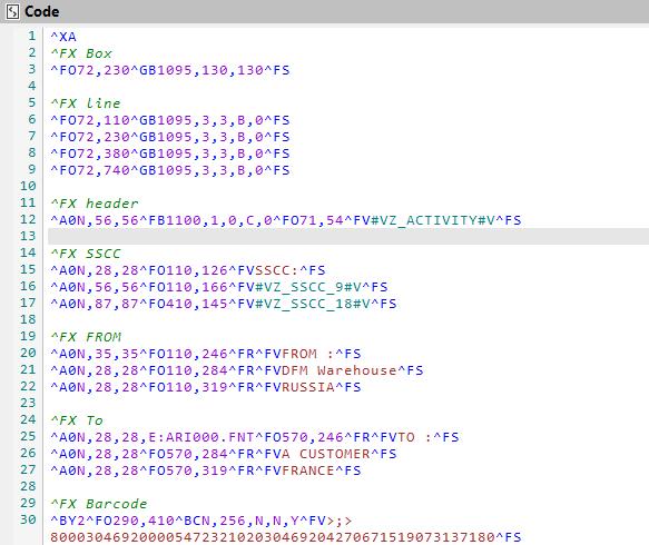 Features: ZPL code editor - ZPL Viewer - ZPL Commmands - ZPL